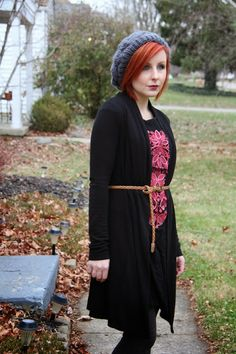 Thrift and Shout: Cute Outfit of the Day: Winterized, winter fashion