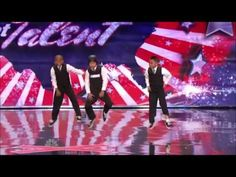 3 kids dancing americas got talent.