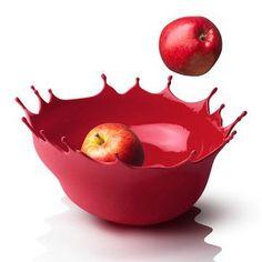 Dropp! Fruit Bowl Red