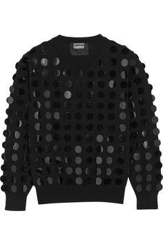 Markus Lupfer - Paillette-embellished merino wool sweater