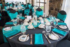 Black & teal wedding- Ottawa Wedding www.rsvp-events.ca