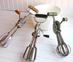 Before the electric mixer.... memori, egg beater, blast, vintage, hands, kitchen, vintag hand, hand mixer, vintag thing