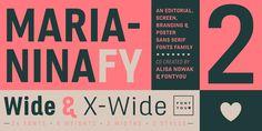 Marianina Extended FY - Webfont & Desktop font « MyFonts