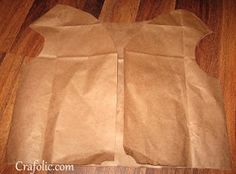 Kateri Tekakwitha Dress-Up Fun {Brown Paper-Bag Vest} | Catholic Inspired ~Catholic crafts, art projects, and other hands-on activities!