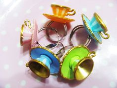 carnival of teacup rings