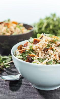 Hot and Cold Power Bowls: Greek Power Bowl & Seaweed Power Bowl Recipes.