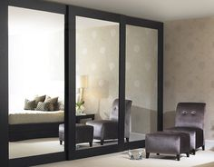 sliding door wardrobes - superbly lush and sexy!