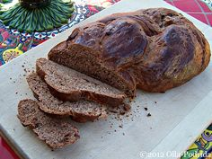 Chocolate Challah Bread