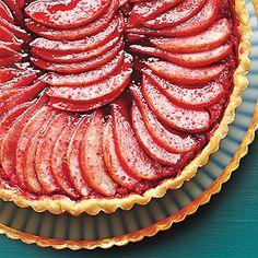 Apple, Pear and Cranberry Tart | MyRecipes.com