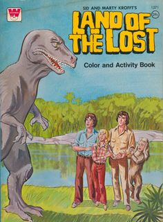 Land of the Lost coloring book.