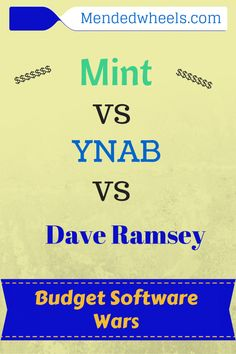 Are you having a hard time choosing budget software? I let these 3 battle it out for me. Who do you think won?
