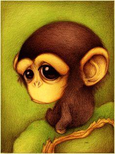 Chimpance. by ~faboarts on deviantART