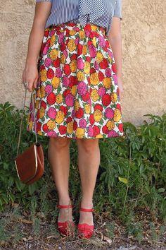 DIY Wrap Skirt - FREE Sewing Tutorial