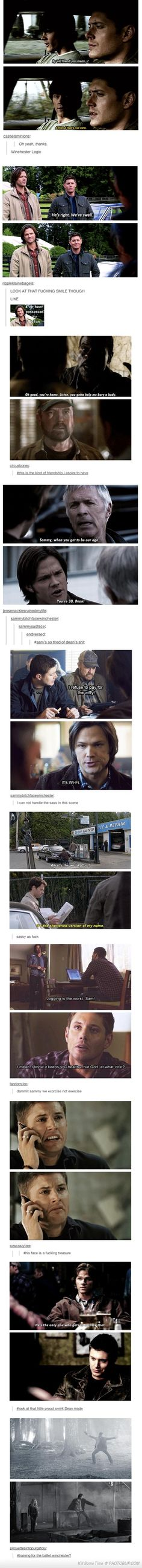 supernatural tumblr posts | My Favorite Supernatural Tumblr Posts if you didn't read the last comment in Draco's voice, you're wrong.