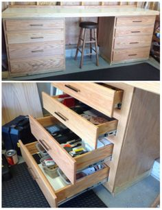 Custom Workbench with Full-Extension Drawers by Steve K. in the Kreg Jig® Owners' Community // Share your projects today at www.KregJig.ning.com!
