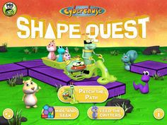 CyberChase Shape Quest - a fun iPad app for using AR to teach about shapes and puzzles