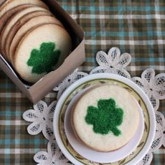 Clover Cookies Recipe clovercookies400b, clovers, clover cooki, st patrick, healthy foods, cookie recipes, cooki recip