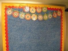 Letters for bulletin board decor! So many uses - word wall, vocabulary, student work, and more!