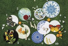 Movable Feast: 10 Perfect Melamine Picnic Plates