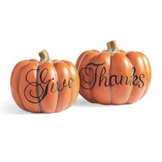 Give Thanks Pumpkins