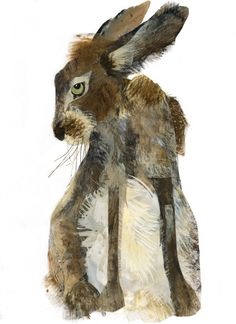 Hare by erica for easter inspiration.