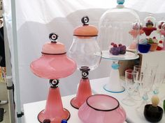 glassware at #Toronto Outdoor #Art Exhibit via http://lifeovereasy.com/ #glass
