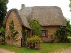 . cottag, fantasi hous, french country houses, hobbit houses, fantasy house