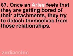 Zodiac Facts - Aries