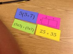 Disturbed by Distributive Property? No Need to Worry with this Formative Assessment Lesson