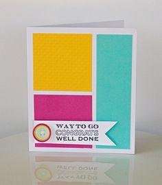 Way to Go Card by @Kimberly Kesti