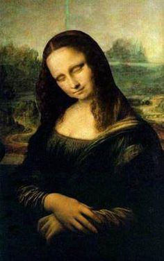 Sleeping Mona