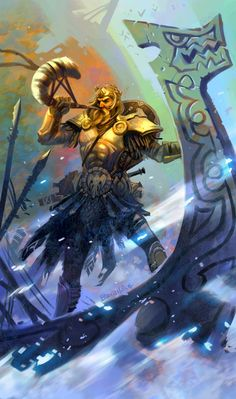 Norse God...