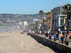 Mission Beach Boardwalk san diego