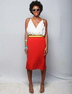 Solange summer outfit gem via @Daisy Duck Magazine