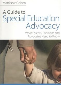 "The author provides tips on how parents can become special education advocates, create real change in educational institutions and use disability law ""to the greatest effect."" Chapters are also included for behavioral management and discipline issues as well as procedural safeguards, mediation and due process."