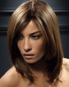 Hair On Pinterest Partial Highlights Brown Hair And