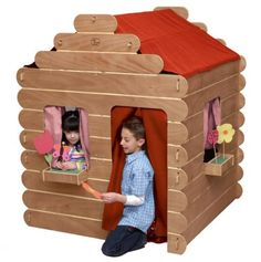 Log Cabin Playhouse.