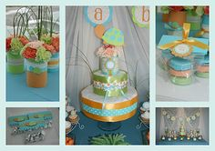 Turtle-themed baby shower