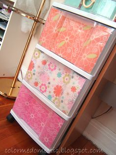 I am definitely going to so this to hide my messy drawer contents!