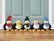 Penguin Draft Stopper