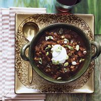 Beef and Wheat Berry Chili