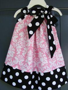 Pillowcase dress~Love these!
