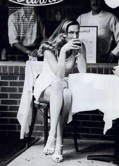 Tatjana Patitz | Photography by Arthur Elgort | For Vogue Magazine US | March 1994 #tatjanapatitz #arthurelgort #vogue #1994