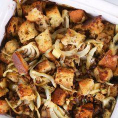 Sausage Ciabatta Stuffing Mario Batali