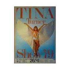 - Tina Turner - poster 1979 -