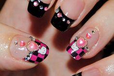 Hello Kitty Manicures!