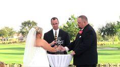 """Eagle Creek Golf Club Wedding """"Unity Cross Ceremony"""""""