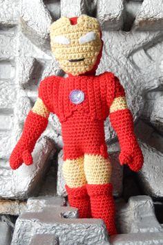 Iron Man Amigurumi Free Pattern : amigurumi characters on Pinterest Amigurumi, Amigurumi ...