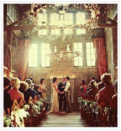 Wedding altar.