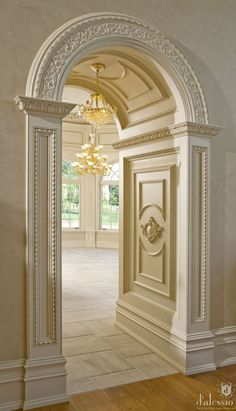 idea, door ways, dream homes, arches, hous, interior architecture, hallway, home architecture, design